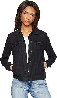 Women's Linen Jean Jacket