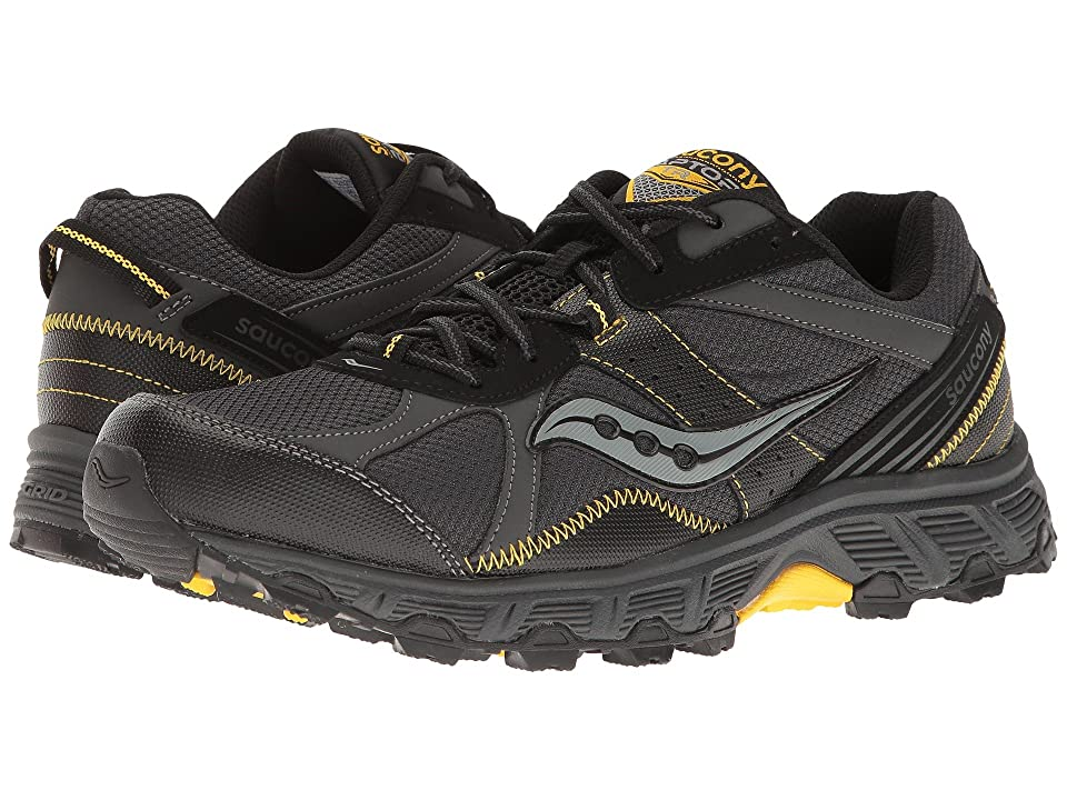 Saucony Grid Raptor TR (Black/Grey/Yellow) Men