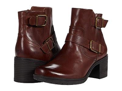 Clarks Hollis Sonar (Mahogany Leather) Women