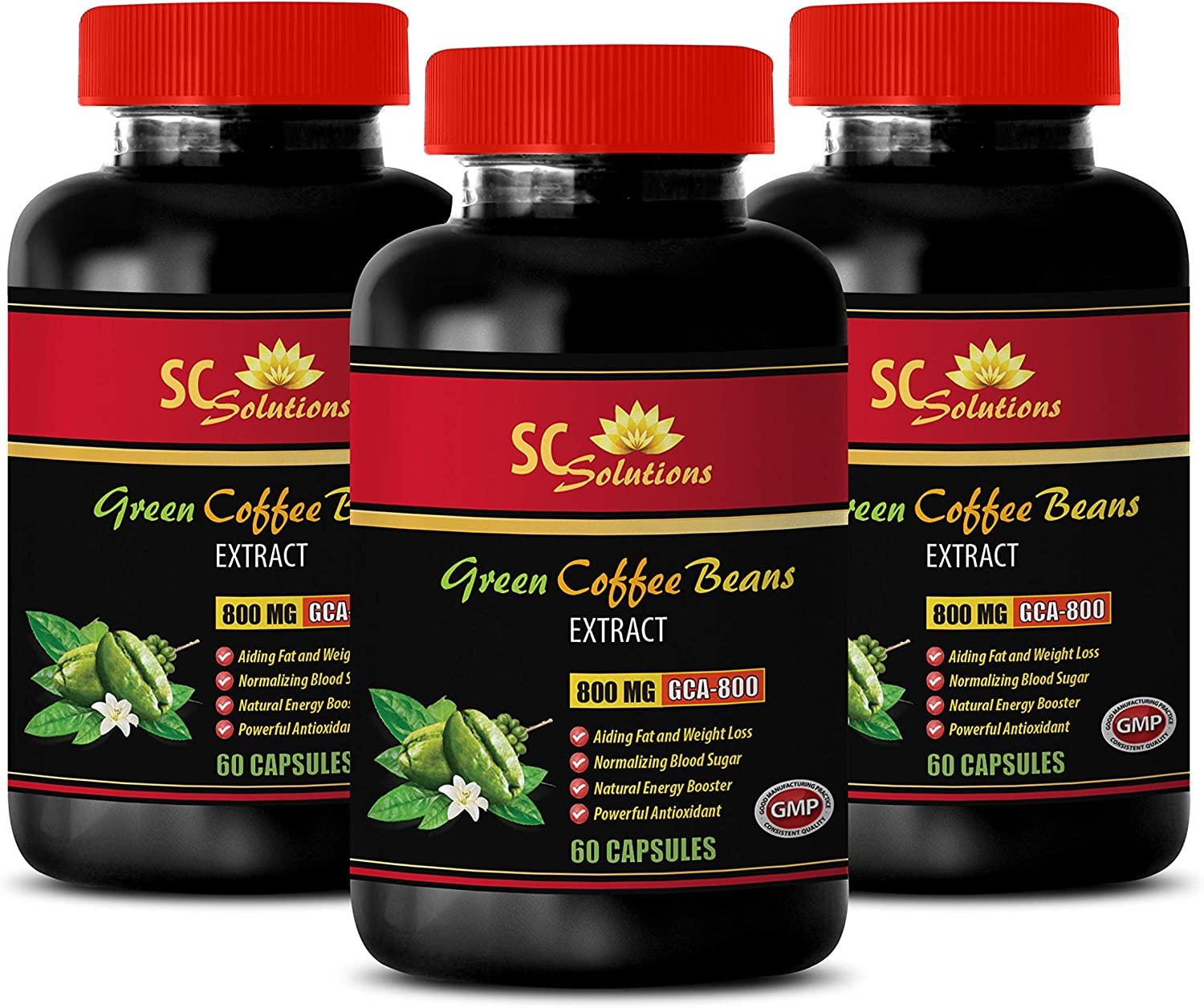 Weight Loss Herbal Supplements - Extract Coffee Green Max 65% OFF Max 55% OFF 800MG Ex
