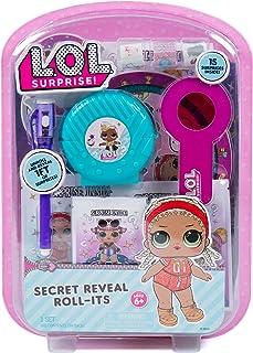 L.O.L. Surprise! Secret Reveal Roll-Its by Horizon Group USA,Unbag To Reveal Surprises.DIY Activity kit Includes Secret De...