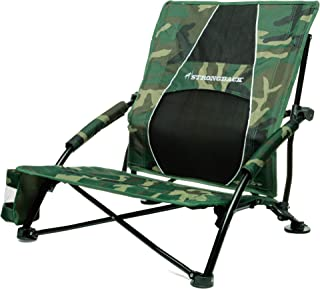 STRONGBACK Low Gravity Beach Chair Heavy Duty Portable Camping and Lounge Travel Outdoor..
