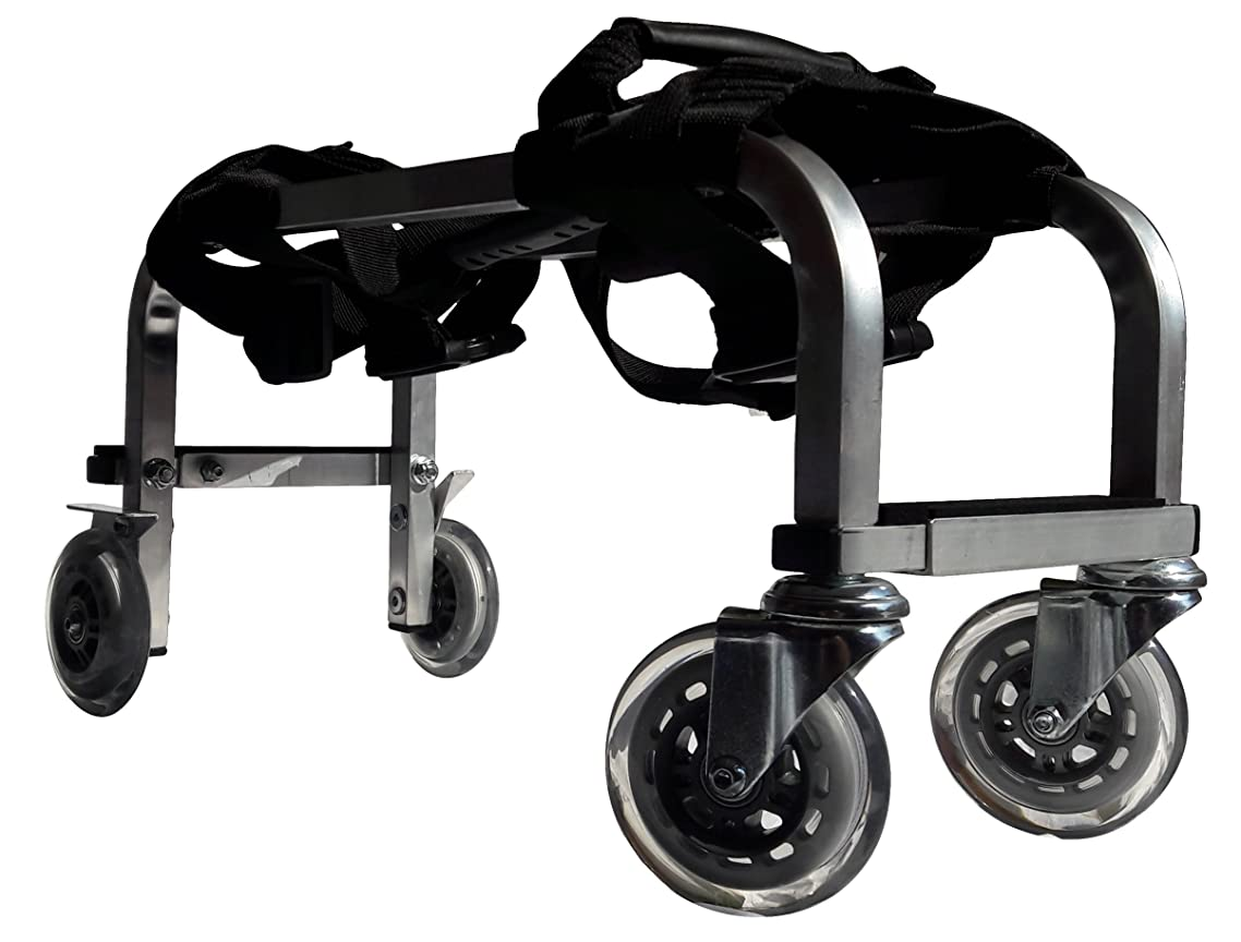 Massage Table Cart ( Trolley ) for Professionals Aluminium Frame - Light, Durable, Solid, Highly Mobile - 3 Year Warranty