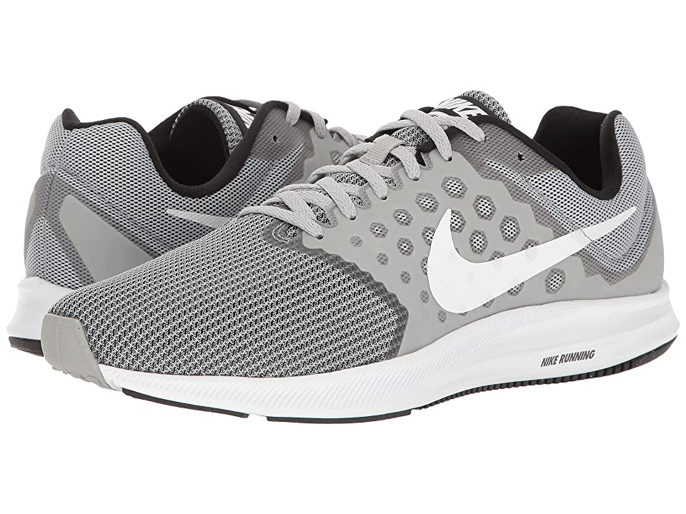 Nike Downshifter 7 (Wolf Grey/White/Black) Men