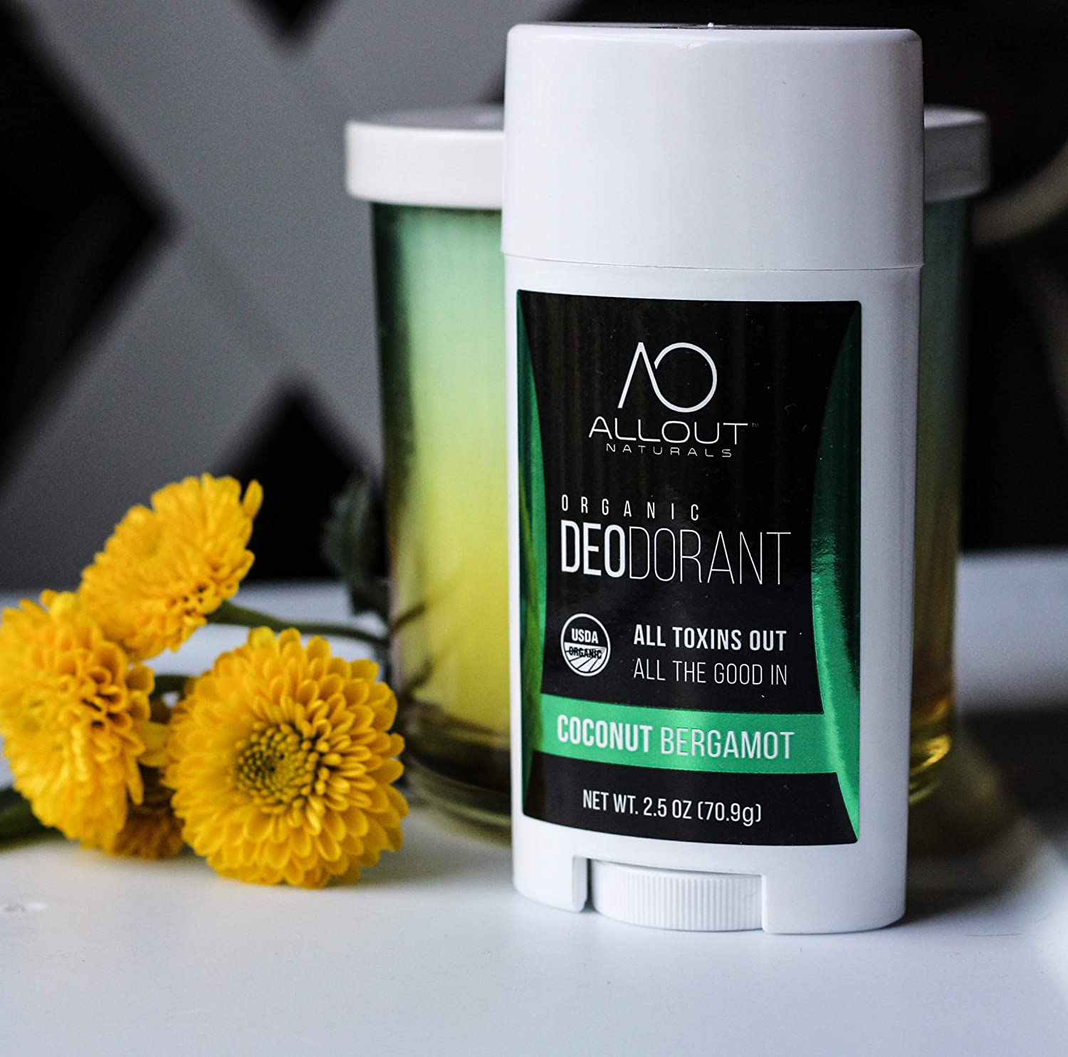 Buy All Out Naturals Organic Deodorant, Best Natural Deodorant for ...