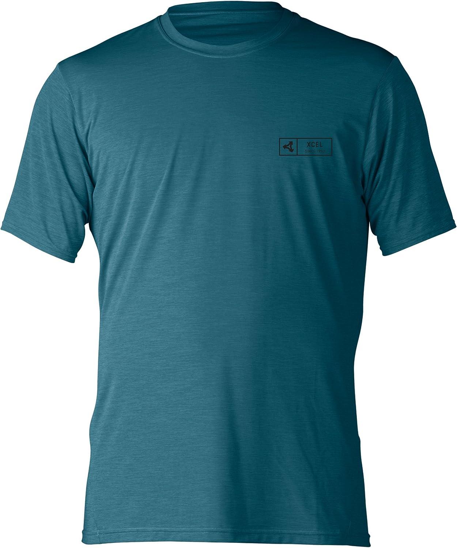 Xcel Men's Pacific 100% quality warranty! Short Sleeve Ventx Top UV Max 52% OFF