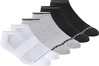 Skechers Women's Non Terry Low Cut Sock 6 Pack