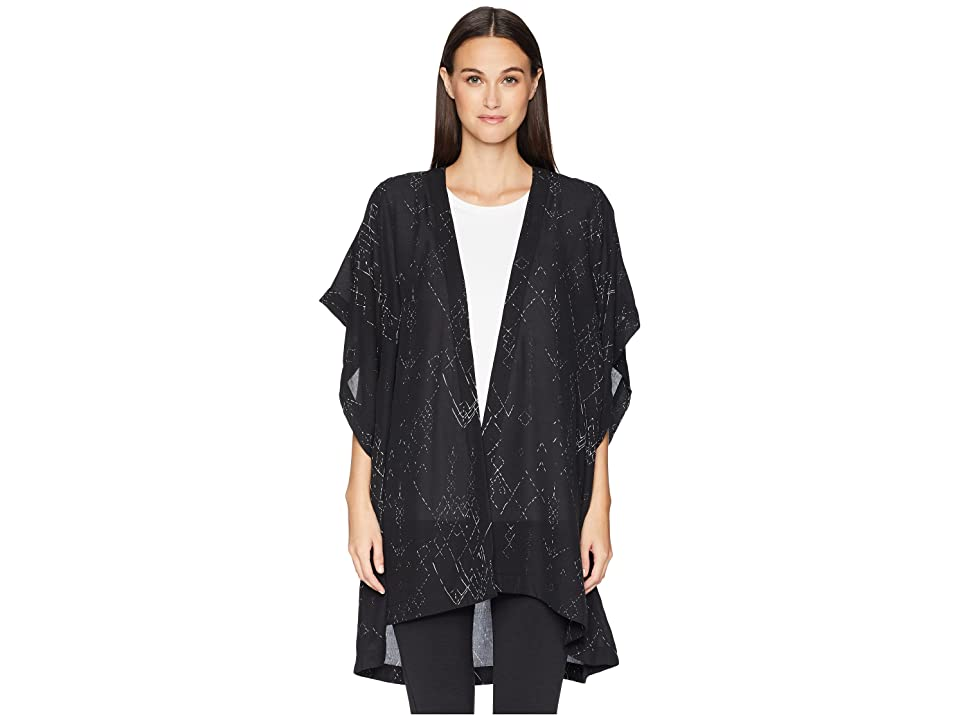 Eileen Fisher Kimono Jacket (Black) Women