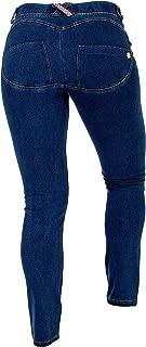 Women's Butt Lifting Curve Enhancing Skinny Stretch Jeggings Leggings Denim Jeans