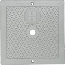 Hayward SPX1082EDGR 10-Inch Dark Gray Square Cover Replacement for Hayward Automatic Skimmers