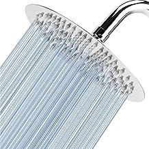 Voolan 20 cm hogedruk regendouche - 304 roestvrijstalen regendouchekoppen - comfortabele douche-ervaring, zelfs bij een la...