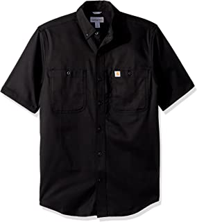 Men's Rugged Professional Short Sleeve Work Shirt