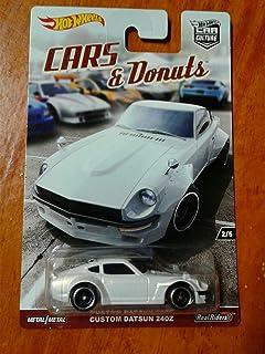 Hot Wheels Car Culture CARS & DONUTS Custom Datsun 240z White 2/5
