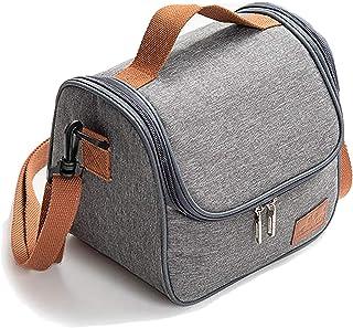 Journeys Insulated Lunch Bag Cooler Shoulder Thermal Tote Bag for Men Women Portable Indoor Outdoor Lunch Box Bag