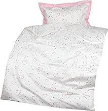 1 Kissenbezug 80x80 cm Lorena Mako-Batist Bettw/äsche L/öwe 1 Bettbezug 135x200 cm