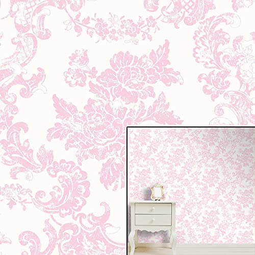 Pink Bedroom Wallpaper: Amazon.co.uk