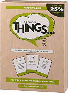 PlayMonster The Game of Things... New Edition with More than 25% New Topics