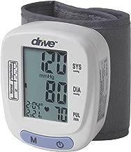 Drive Medical Automatic Blood Pressure Monitor/Wrist Model, White