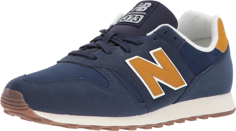 New Balance 373, Baskets Homme, Bleu (Blue/Yellow), 46.5 EU ...