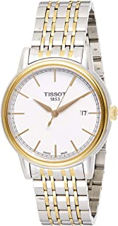 Tissot Men'S White Dial Stainless Steel Band Watch - T085.410.22.1497.33
