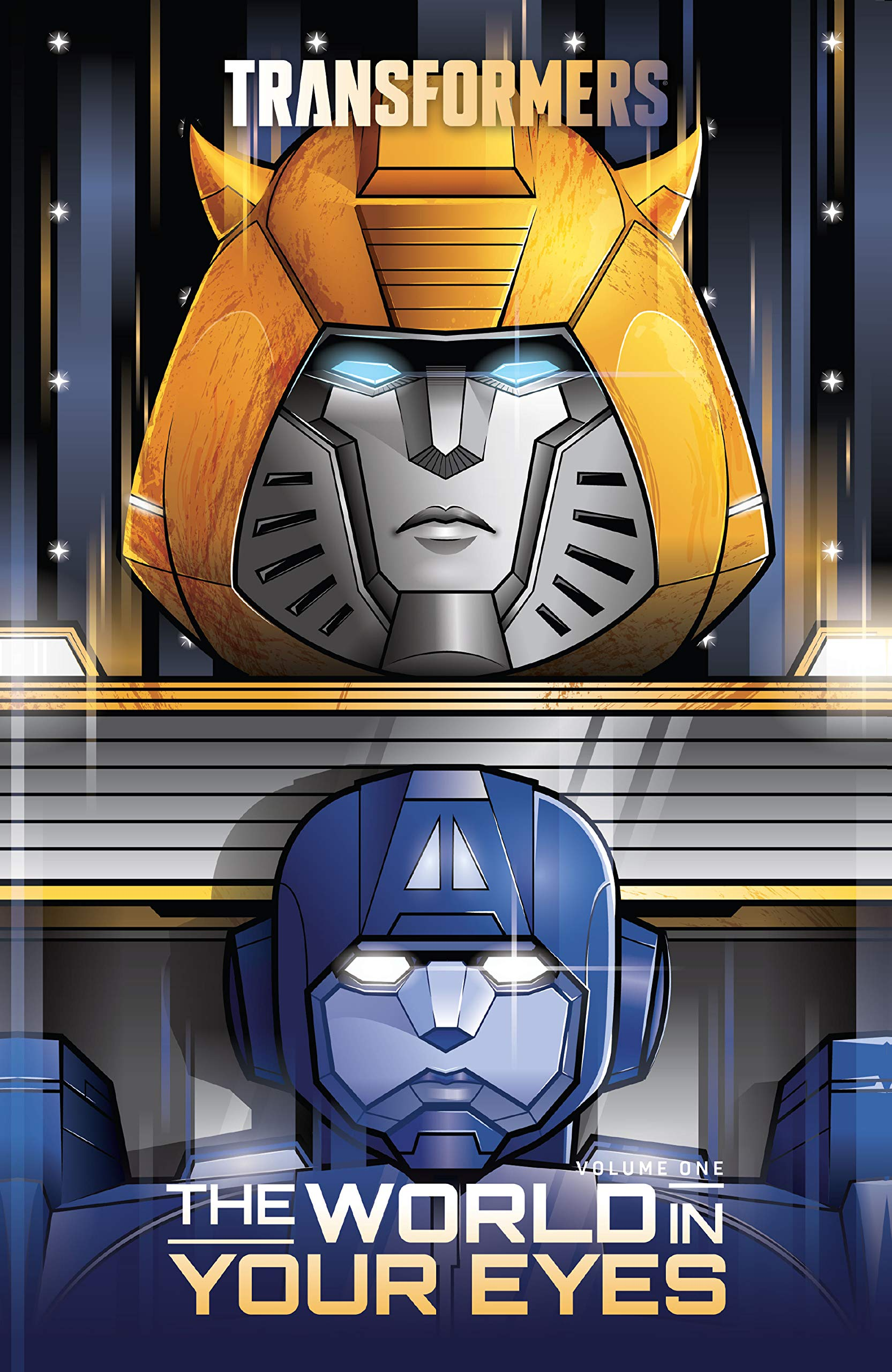 Transformers Vol. 1: The World in Your Eyes (Transformers (2019-))