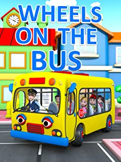 The Wheels on The Bus - Nursery Ryhmes Video for Kids