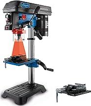 Scheppach Tischbohrmaschine DP16SL mit Schraubstock, 550 W, Gusseisen, 5 Drehzahlen, Bohrfutter Spannbereich 16mm, Laser