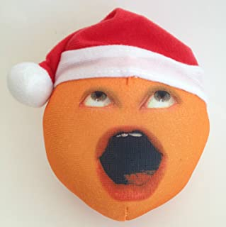Annoying Orange Holiday Plush - Uh-Oh Orange Santa