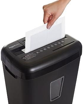 AmazonBasics Paper Shredder Sharpening & Lubricant Sheets - Pack of 12
