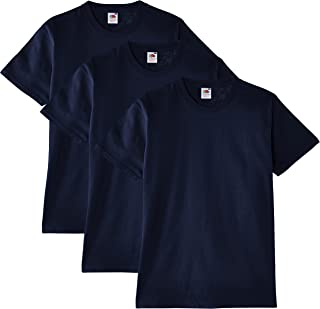 Fruit of the Loom Heavy Cotton Tee Shirt 3 Pack, Camiseta de