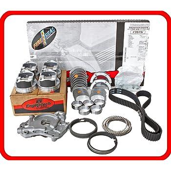 Amazon Com Engine Rebuild Overhaul Kit Fits 1997 1999 Ford Escort Tracer 121 2 0l Sohc 8v Vin P Automotive