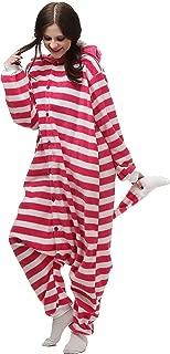 VU ROUL Halloween Costume Animal Cat Onesie Adult Pajamas Pink