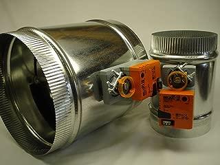 SD 12 inch Belimo 3 wire Motorized 24v round zone control damper