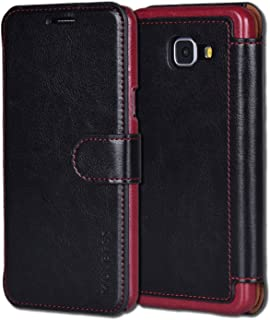 Samsung Galaxy A5 Case,Mulbess [Layered Dandy][Black] - [Card Slot][Flip][Slim Fit] - PU Leather Wallet Case For Samsung Galaxy A5 (2016)