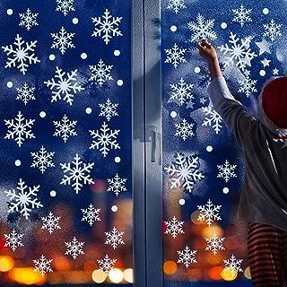 snowflake window decorations christmas