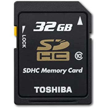 SDHC Toshiba Camileo H30 Camcorder Memory Card 2 x 32GB Secure Digital High Capacity Memory Cards 2 Pack