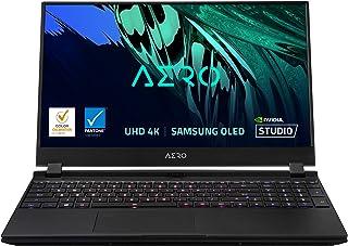 """GIGABYTE AERO 15 OLED YD - 15.6"""" UHD 4k AMOLED IPS, Intel Core i9, NVIDIA GeForce RTX 3080 Laptop GPU 8GB GDDR6, 32GB RAM,..."""