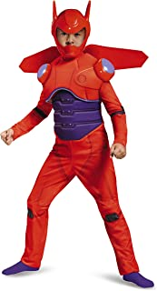 Disney Red Baymax Big Hero 6 Deluxe Boys' Costume