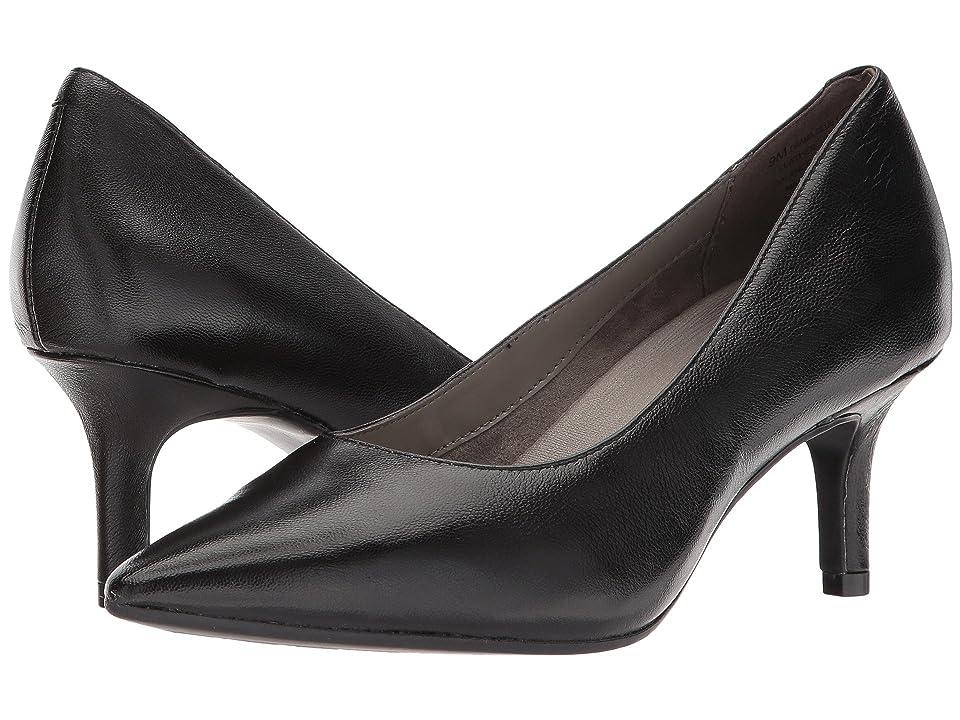 Aerosoles Drama Club (Black Leather) High Heels