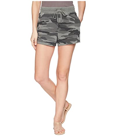 Splendid Camo Shorts (Vintage Olive Branch) Women