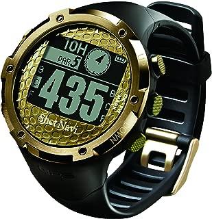 ショットナビ(Shot Navi) ゴルフナビ GPS 腕時計型 リミテッドモデル ゴールド 日本/アジア/ハワイ/グアム/サイパンコース対応 日本プロゴルフ協会推奨 SN-W1-AS