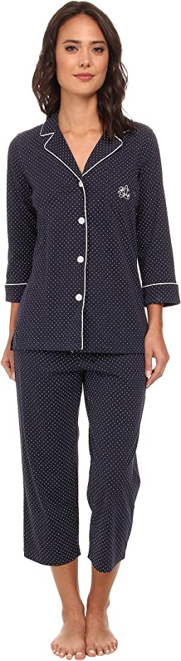 Essentials Bingham Knits Capri PJ Set