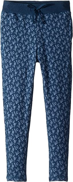 Floral Cotton Terry Pants (Little Kids)