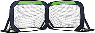 Sport Squad Portable Soccer Goal Net Set - Set of Two 4'...