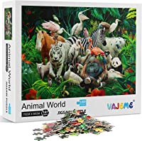 Haluoo 1000 Pieces Puzzles for Adult Women Girls Cream Cake Jigsaw Puzzles Multicolor Decorative Pictures Wall Decor Home Leisure Entertainment Decompression Game Intelligence Development Toy