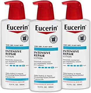Eucerin Lotion, Intensive Repair, Rich Very Dry Skin, 16.9 Ounce Bottle