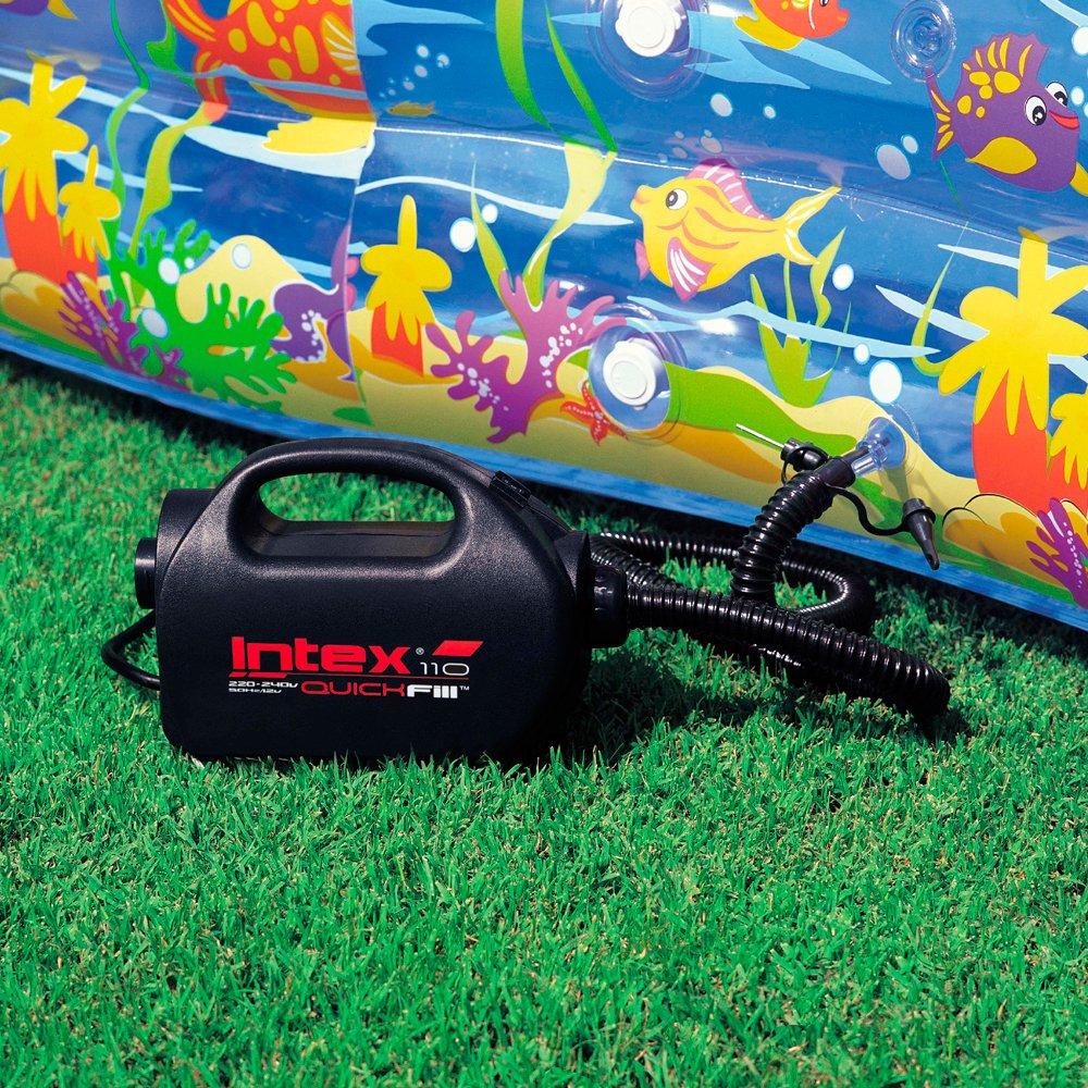 Intex 68609 - Hinchador eléctrico 220-240v incluye boquilla de ...