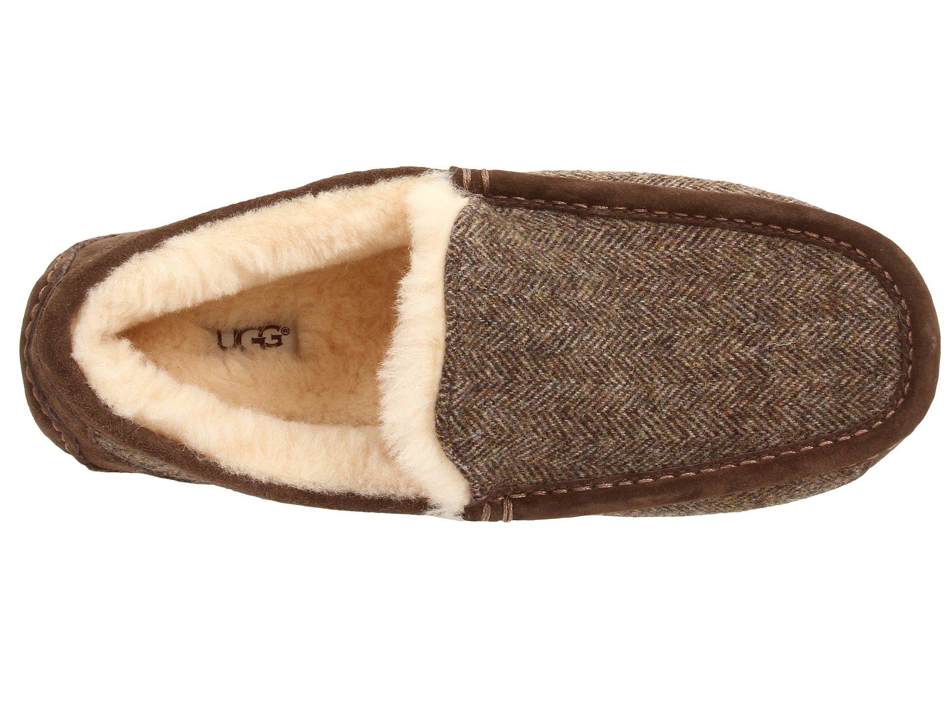 ugg ascot slippers tweed