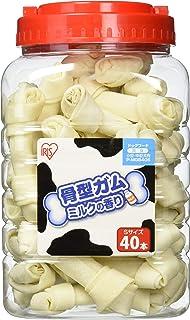 アイリスオーヤマ 骨型ガム ミルク味 40本 SP-MGB40S