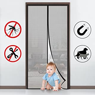 comprar comparacion MYCARBON Mosquitera para puerta Protección contra insectos magnético(90 * 210)